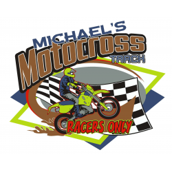 Motorcross Room Sign - Customized