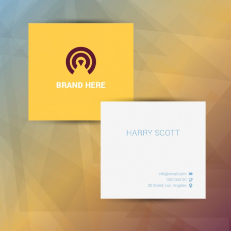 25 square business card reheart Image collections