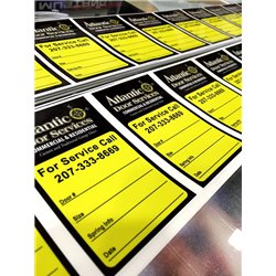 3'' x 5'' Rectangle Stickers Labels