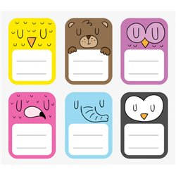 3'' x 4'' Rectangle Stickers Labels