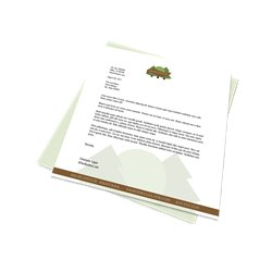 Letterhead - Text 70 lb (28 lb Bond) White - 8.5'' x 11''